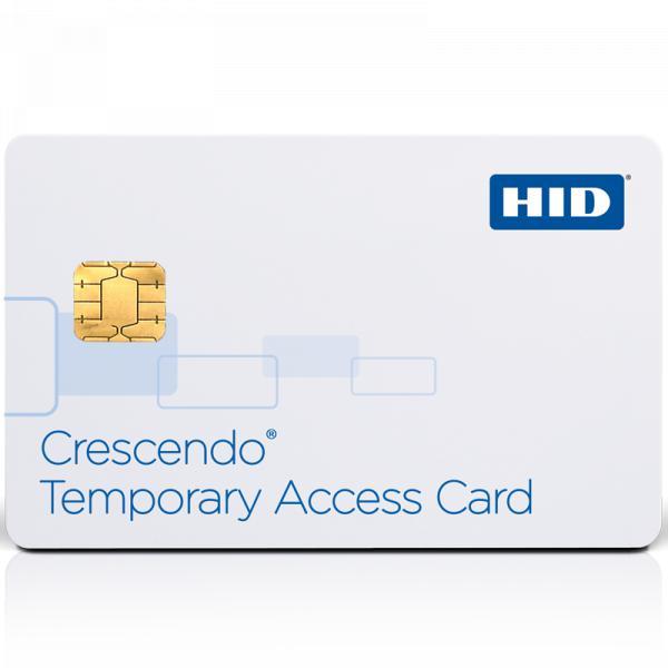 Cartão de acesso temporário HID® Crescendo®