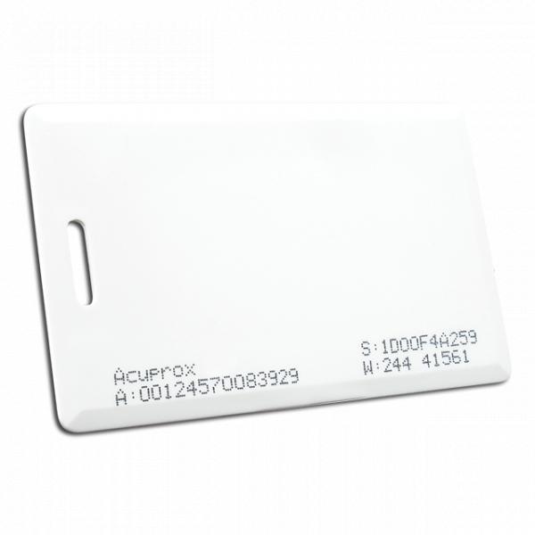 Cartão de Proximidade Acura AcuProx Clamshell