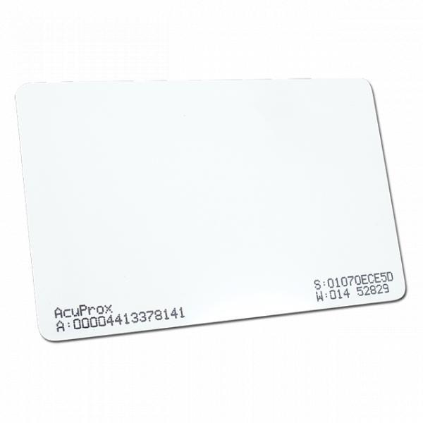 Cartão de Proximidade Acura AcuProx ISO