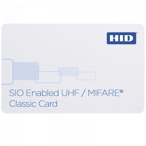 Cartão de Proximidade HID® iCLASS SE® UHF/MIFARE® 603X Classic habilitado para SIO®