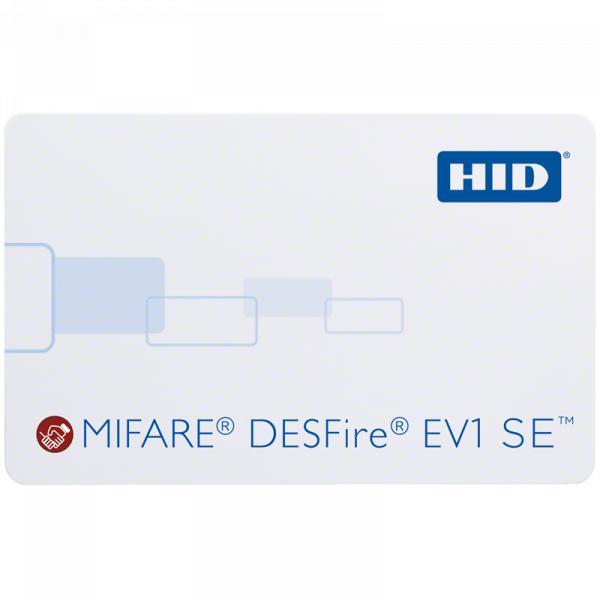 Cartão de Proximidade HID MIFARE DESFire EV1 SE™