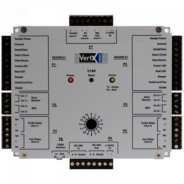 Controladora HID Vertx V100 Interface Porta/Leitor