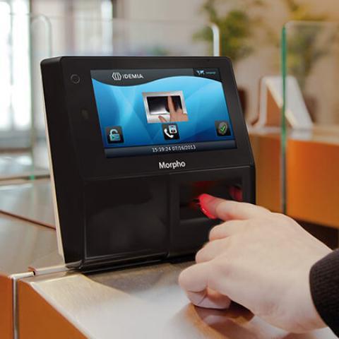 Terminal de Biometria para Controle de Acesso Idemia MorphoAccess SIGMA Series